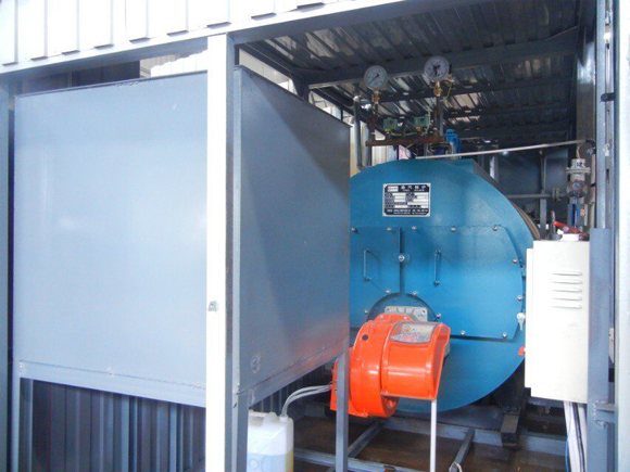 container room boiler